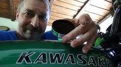 Kautabak mit Wintergreen Geschmack beim schrauben