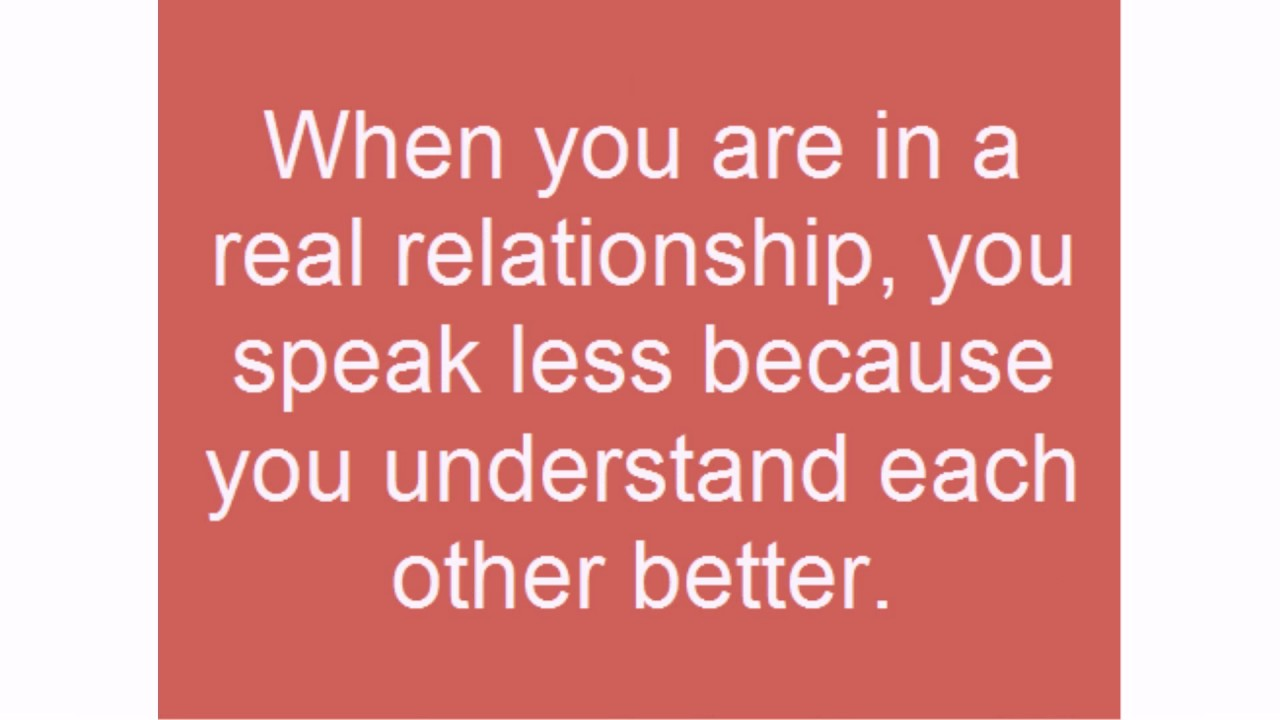 Real relationship quotes