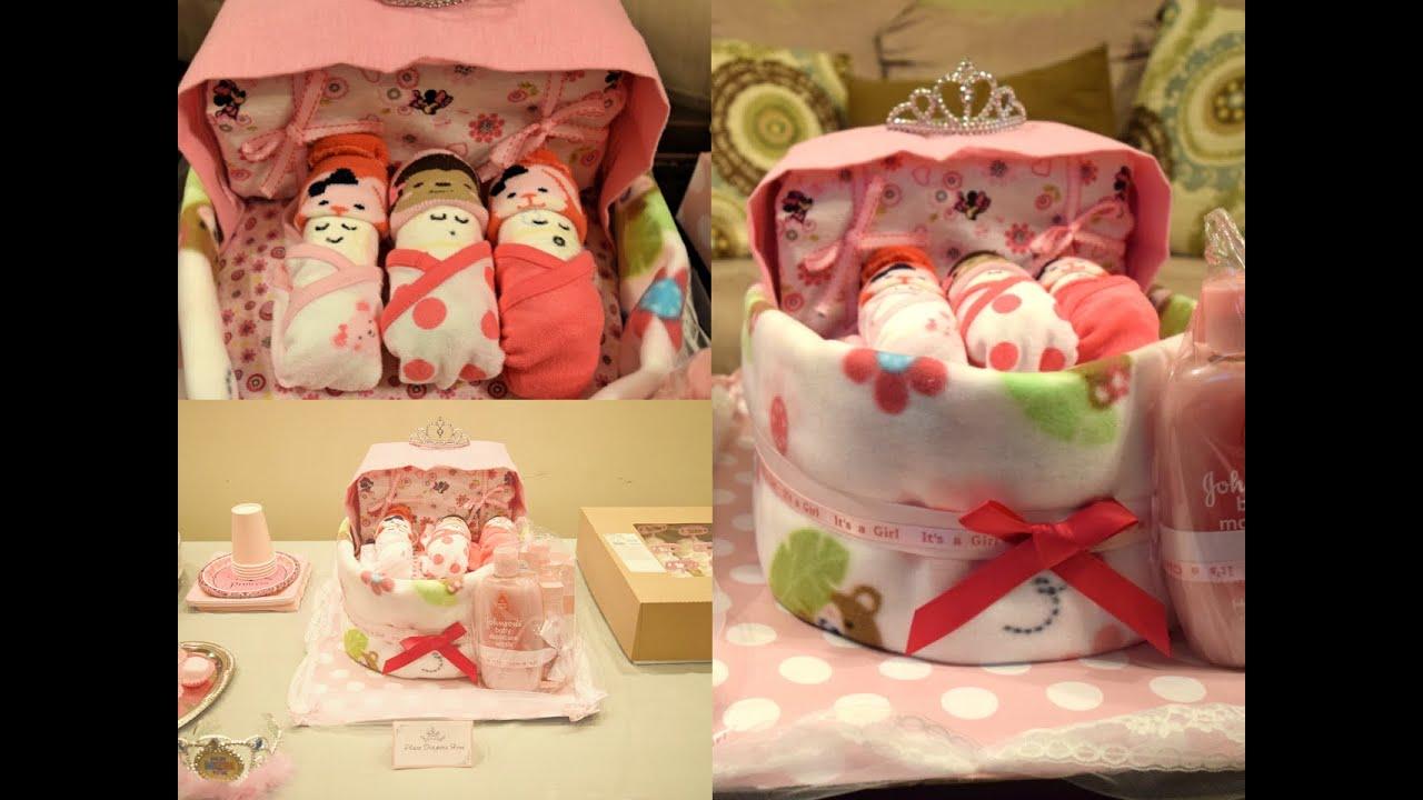 Baby Bassinet Diaper Cake Easy Diy Aseamae Natural