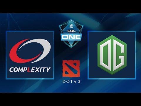 Dota 2 - CompLexity Vs. OG - Game 1 - ESL One Frankfurt 2016 - Groupstage