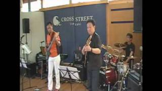 LIve at Cross Street Yokohama,Japan Performed by NATT on Jun 27,2010.