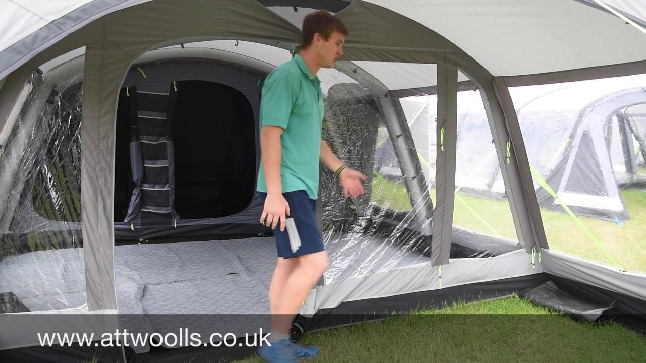 K&a Croyde 6 Air Classic Tent Review 2018 & Kampa Croyde 6 Air Classic Tent Review 2018 - YouTube