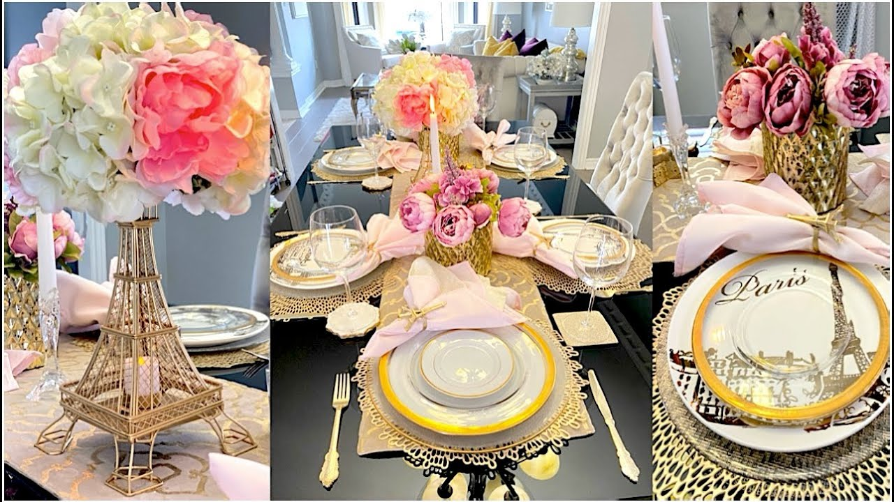 Mother's Day Tablescape Collab | How To Style A Mother's Day Table | Mother's Day Tab