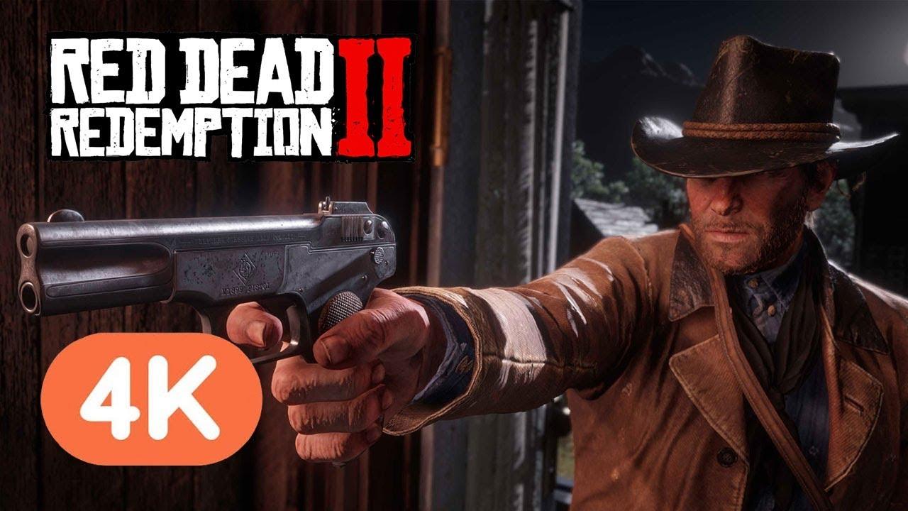 Red Dead Redemption 2 Pc Official 4k Trailer