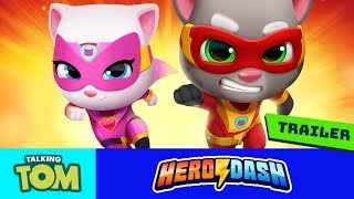 🦸 Talking Tom Heroes' NEW GAME - Talking Tom Hero Dash (Official Trailer) - PRE-REGISTER NOW! ⚡