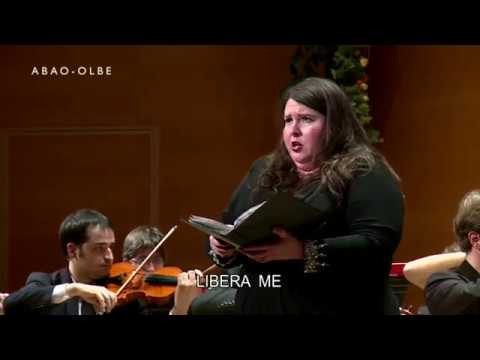 Messa da Requiem. Verdi. Libera me. Angela Meade
