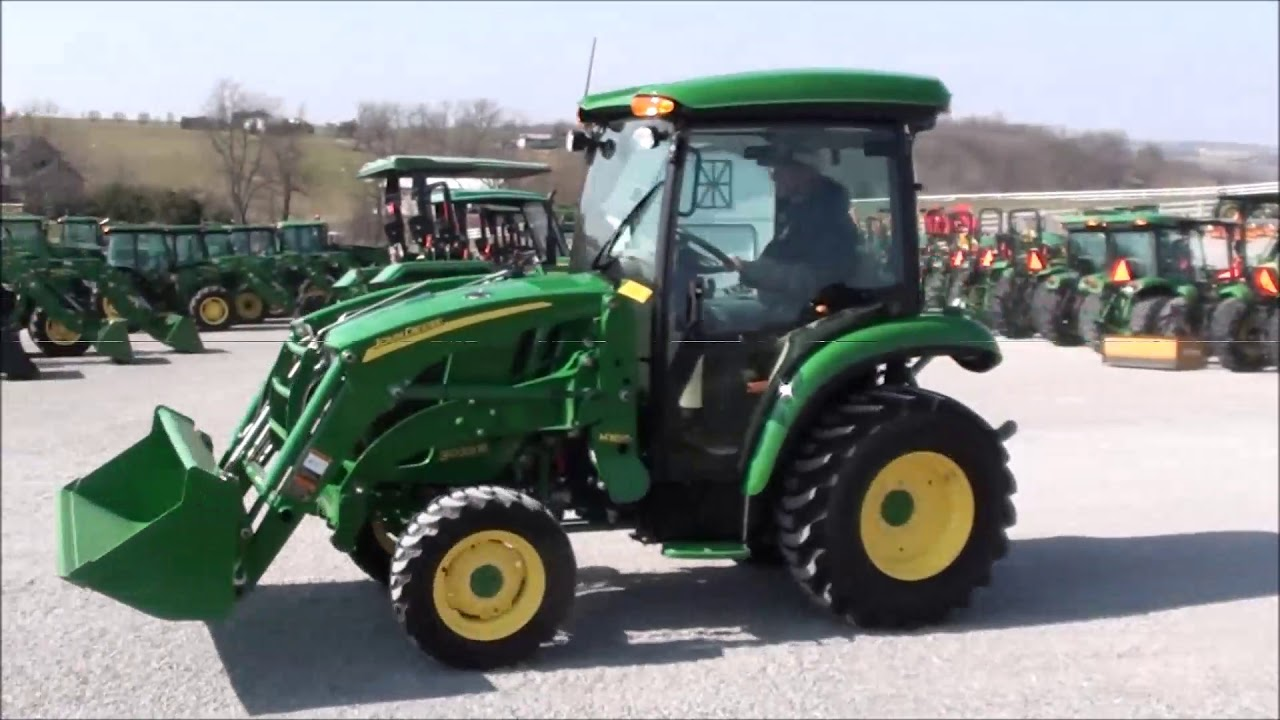 JD 3033R Tractor with Cab & Loader
