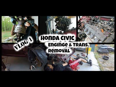 Removing a Honda Civic Engine & Transmission