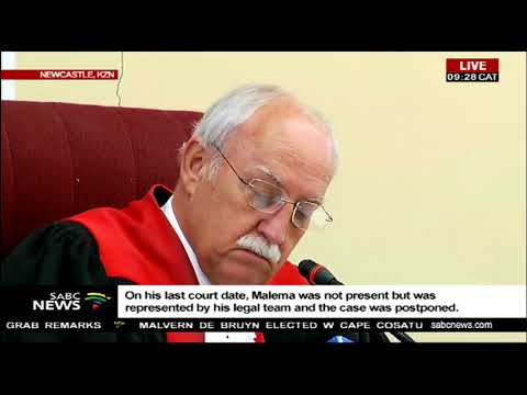 Malema land court case in Newcastle postponed
