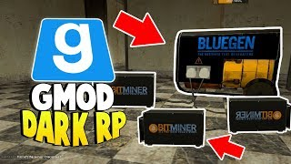 BITCOIN MINING FARM - Gmod Dark RP - (WE TRICKED A GUY FOR $300,000 AND WE RAN)