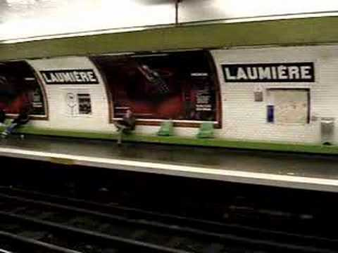 Strike announcement in Metro Station - PARIS
