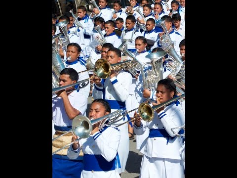 Day 2 Tonga Inter-College Brass Band Festival 2015