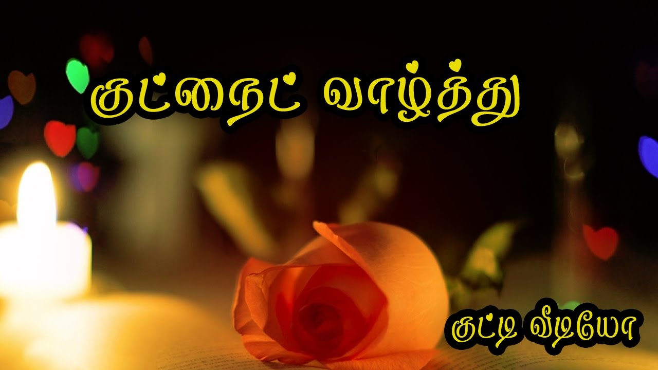 Good Night Wishes In Tamil Whatsapp Video 069 Youtube