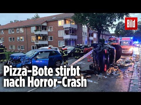 Bein abgerissen: Pizza-Bote stirbt nach Unfall mit SUV | Hamburg