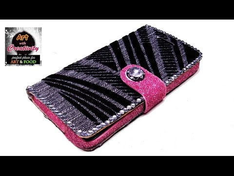 how to make phone case home | DIY | Art with Creativity