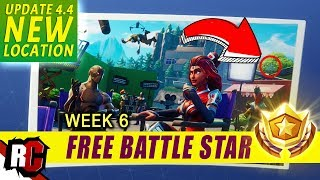 NOUVEAU Secret Battle Star WEEK 6 Mise à jour 4.4 Fortnite (Blockbuster Challenge / NEW TRUCK LOCATION)