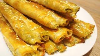 Идеальный Перекус! Популярные Роллини с брынзой и шпинатом