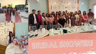 BRIDAL SHOWER AT TANIAS TEAHOU…