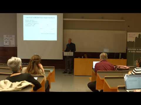 Financial underdevelopment & inequalities in the Middle East, by Timur Kuran (Duke University)