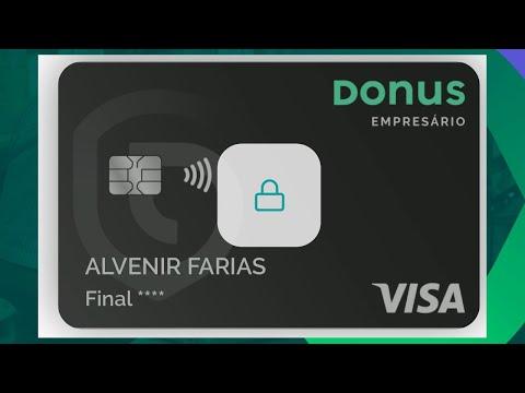 Conheça A Nova Conta Digital Donus Com Cartão Visa Internacional Grátis