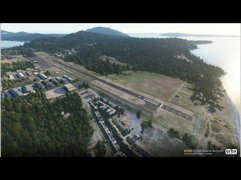 KORS - Orcas Island Airport [Microsoft Flight Simulator 2020]