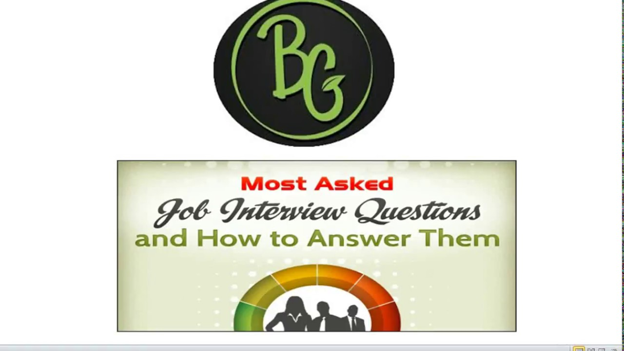hr interview how to crack freshers hr interview question answers part 2 real time answers - Answering Job Interview Questions Part 2