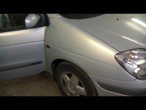 Renault Scenic ремонт вентилятора печки, ремонт реостата