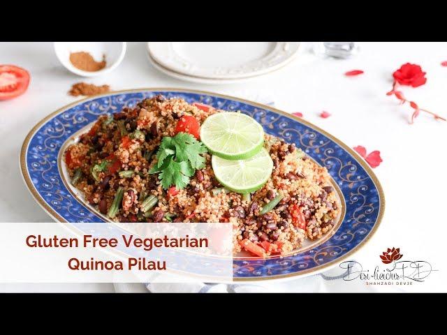 Gluten Free Vegetarian Quinoa Pilau