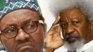 REVEALED!!! BUHARI CAN'T HANDLE NIGERIA'S PROBLEMS SAYS PROF. WOLE SOYINKA. HEAR HIS REASONS.