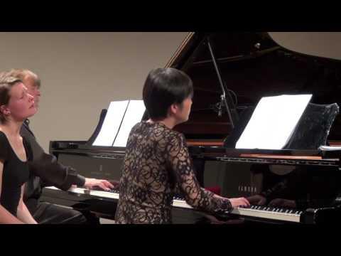Frederic Rzewski : Winnsboro cotton mill blues (for 2 pianos)