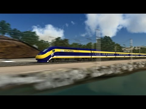 California High-Speed Trains: Visual Tour