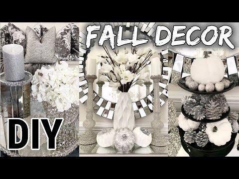 DIY Dollar Tree FALL Home Decor 2019 | Fall & Faux Mirror Room Decor DIY!