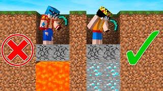 ¡NO CAIGAS EN LA TRAMPA EN MINECRAFT! 😂 ¡EL LABERINTO DE LAS TRAMPAS! (Eltrollino Minecraft)