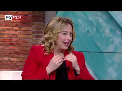 Intervista Di Giorgia Meloni A Sky Tg24 Non Perdetela