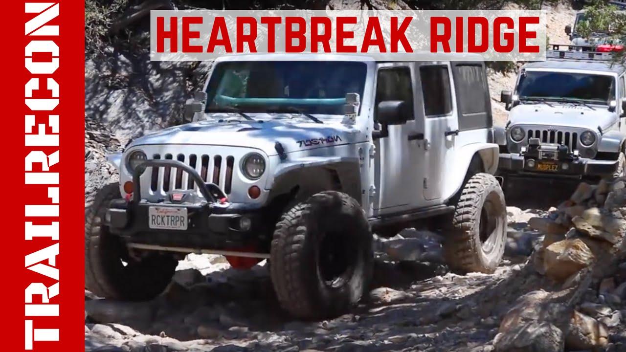 San Diego Jeep >> Heartbreak Ridge with the San Diego Jeep Club - YouTube