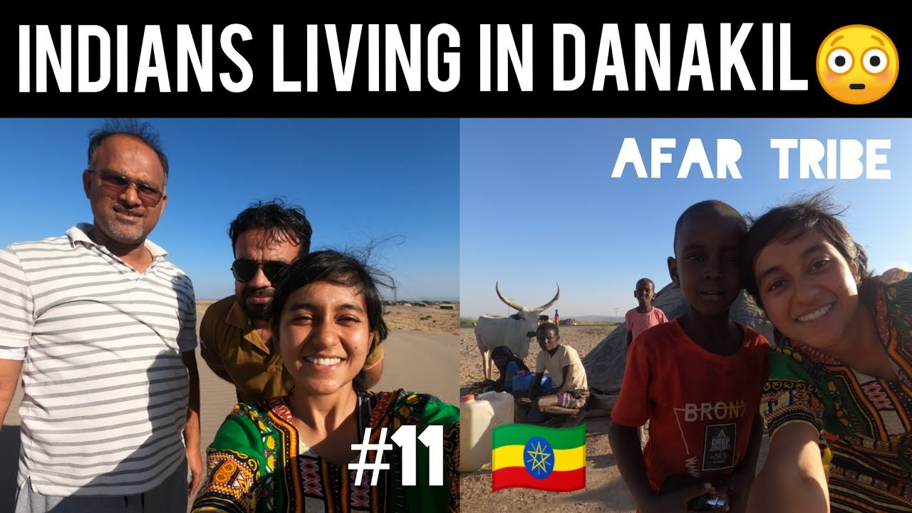 Indians Are Everywhere | Danakil Desert ( hottest place on earth ) 🇪🇹🇮🇳