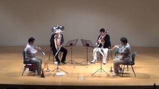 Performed by Tsubata Brass Quartet on Dec.28th, 2014.