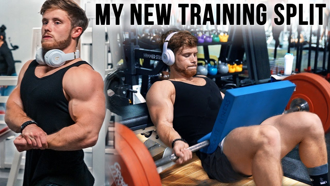 My New Training Split (Full Workout Walkthrough)
