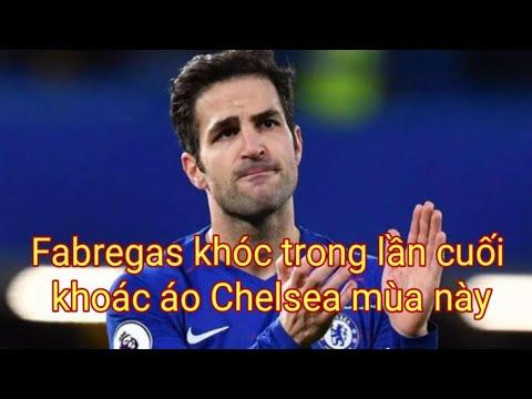 Fabregas Khóc Trong Lần Cuối Khoác áo Chelsea Mùa Này