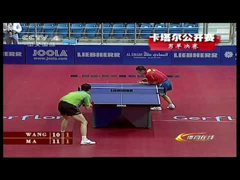 Ma Lin Wang Liqin 2007 Qatar Open Table Tennis