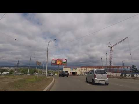 Driving through Ulan-Ude and road to Russian-Mongolian border