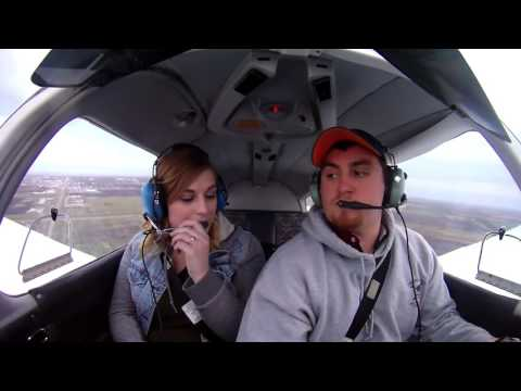 Piper Warrior: Girlfriends First Flight
