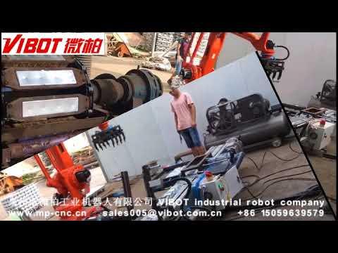 VIBOT ZINC INGOT CASTING ROBOTIC AUTOMATION 微柏锌锭自动化视频集合