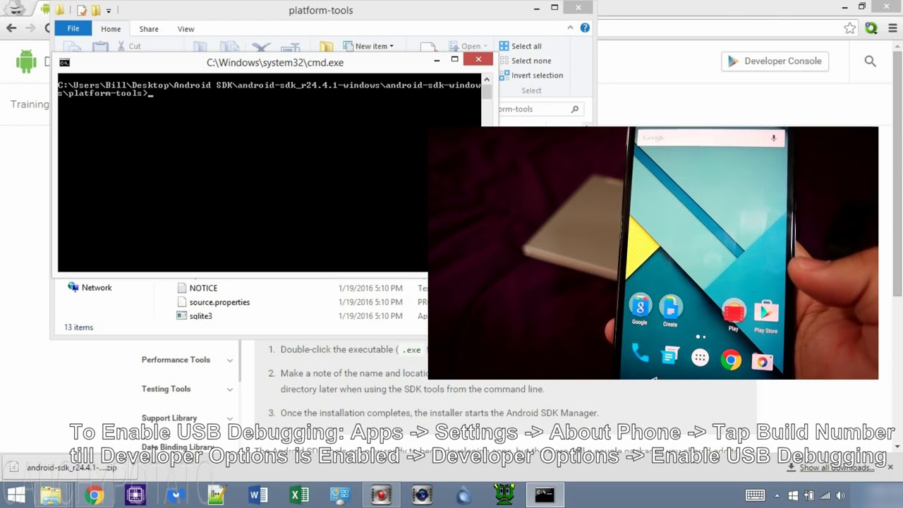 How To Install Android SDK Platform Tools