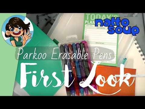 Parkoo Erasable Pens First Look