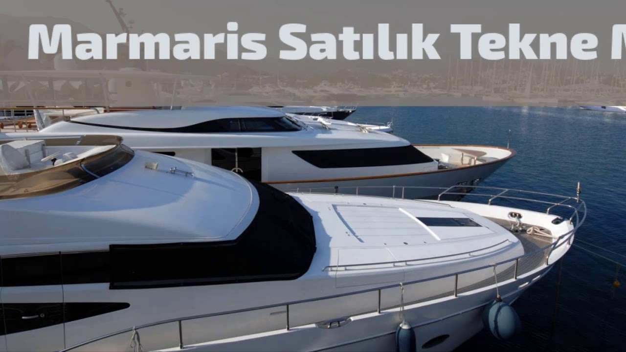 Marmaris Satılık Tekneler / Marmaris Yat Kiralama 05317051313 www.kiralikteknem.com