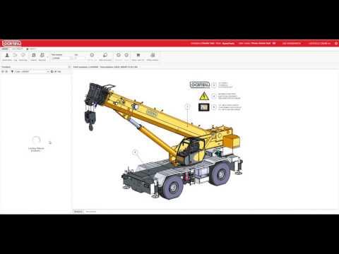 Locatelli Crane - Online Spare Parts Demo