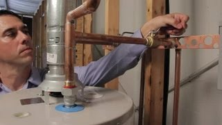 How to Turn the Hot Water Heater Off Automatically When It Leaks : Hot Water Heaters