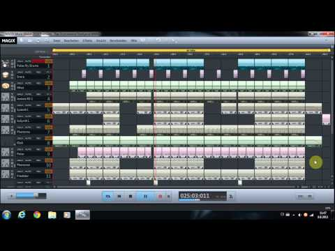 MAGIX Music Maker 2014 Premium Rap Instrumental