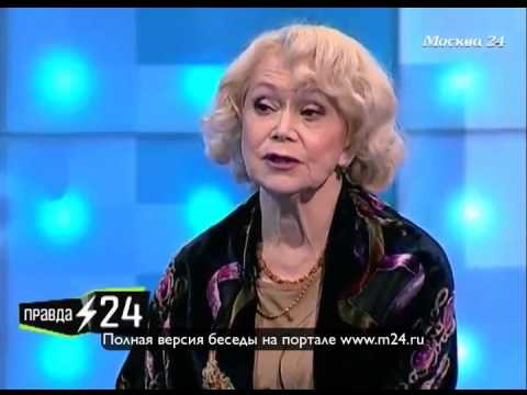 Светлана Немоляева боится телевидения